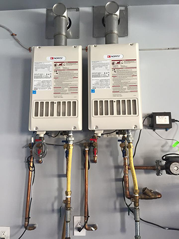 Double Water Heaters